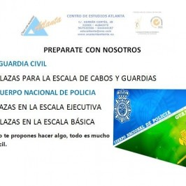 Oposiciones Guardia Civil y Cuerpo Nacional de Policía